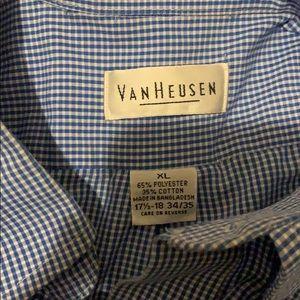 Van Heusen Shirts - Men's Button Down Dress shirt